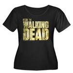 The Walking Dead Women's Plus Size Scoop Neck Tee
