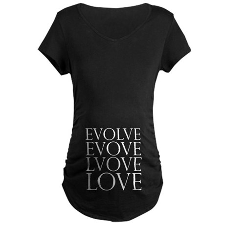 Evolve Perpetual Love Maternity Dark T-Shirt