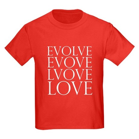 Evolve Perpetual Love Kids Dark T-Shirt