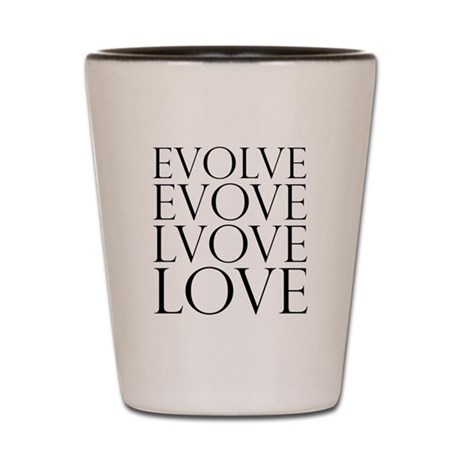 Evolve Perpetual Love Shot Glass