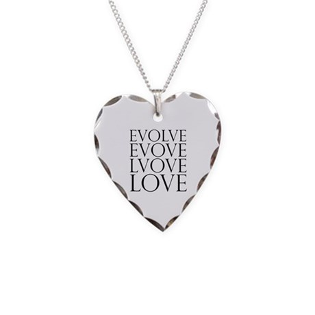 Evolve Perpetual Love Necklace with Heart Charm