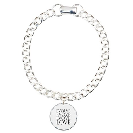 Evolve Perpetual Love Charm Bracelet with Circle Charm