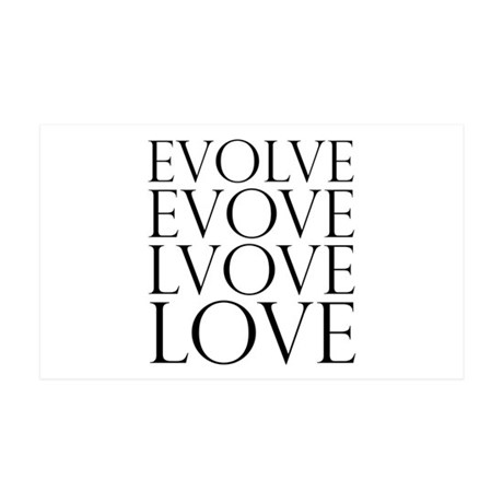 Evolve Perpetual Love 38.5x24.5 Wall Peel