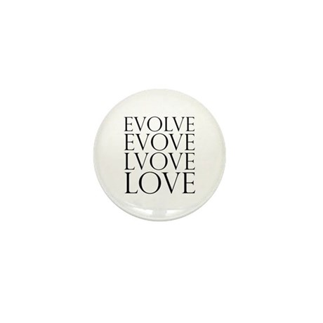 Evolve Perpetual Love Mini Button