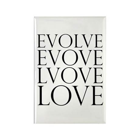 Evolve Perpetual Love Rectangle Magnets ~ Pack of 100