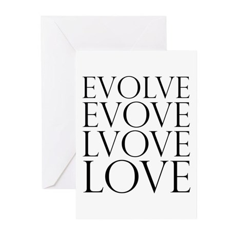Evolve Perpetual Love Greeting Cards ~ Package of 20