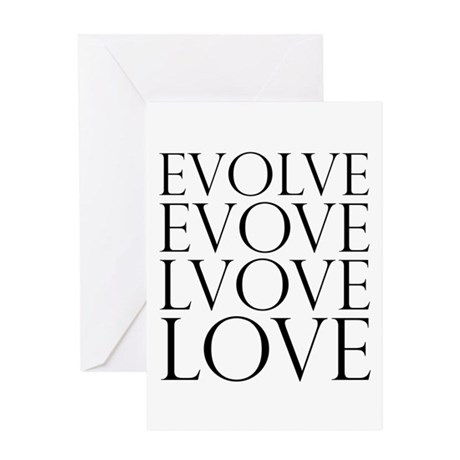 Evolve Perpetual Love Greeting Card