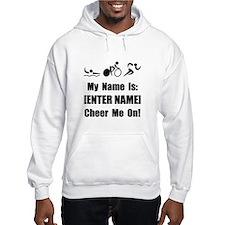 Tri Cheer Me [Personalize It! Hoodie