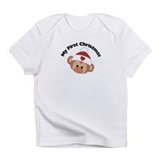 My First Christmas Girl Monke Infant T-Shirt