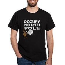 Occupy North Pole Shirt T-Shirt