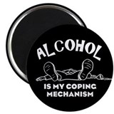 "Coping Mechanism 2.25"" Magnet (100 pack)"