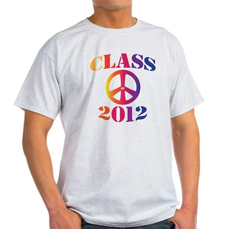 Class of 2012 Peace Light T-Shirt