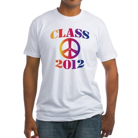 Class of 2012 Peace Fitted T-Shirt