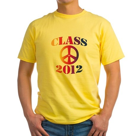 Class of 2012 Peace Yellow T-Shirt