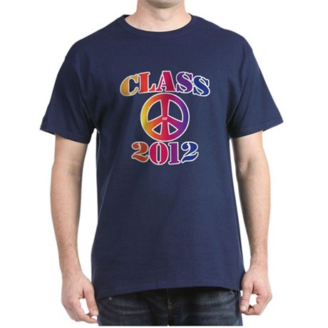 Class of 2012 Peace Dark T-Shirt