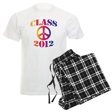 Class of 2012 Peace Men's Light Pajamas