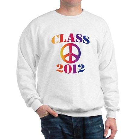 Class of 2012 Peace Sweatshirt