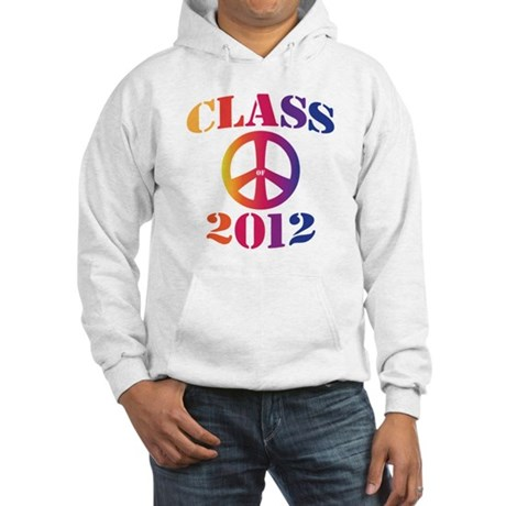 Class of 2012 Peace Hooded Sweatshirt
