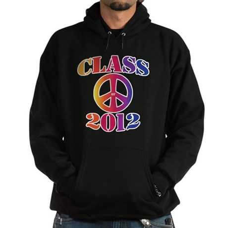 Class of 2012 Peace Hoodie (dark)