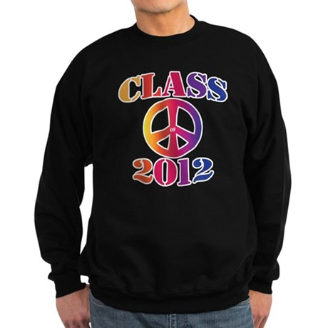 Class of 2012 Peace Sweatshirt (dark)