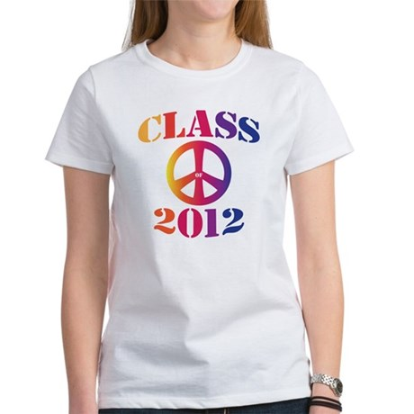 Class of 2012 Peace Women's T-Shirt