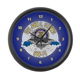 CVN-74 USS Stennis Large Wall Clock