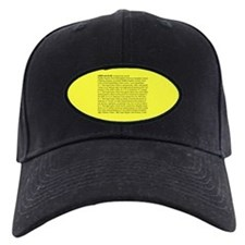 Custody Defined Black Baseball Hat