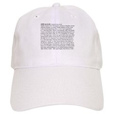 Custody Defined Black Baseball Cap