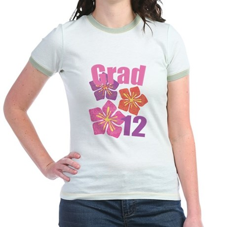 Hawaiian Grad 2012 Jr. Ringer T-Shirt