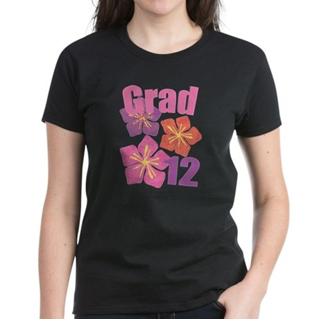 Hawaiian Grad 2012 Women's Dark T-Shirt