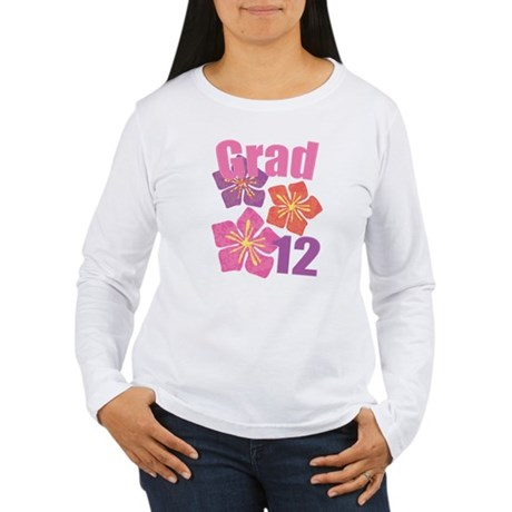 Hawaiian Grad 2012 Women's Long Sleeve T-Shirt