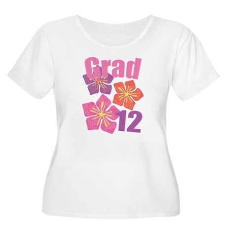 Hawaiian Grad 2012 Women's Plus Size Scoop Neck T-