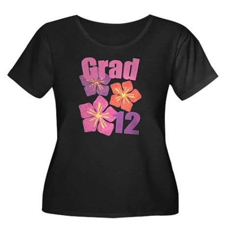 Hawaiian Grad 2012 Women's Plus Size Scoop Neck Da
