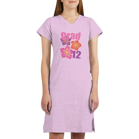 Hawaiian Grad 2012 Women's Nightshirt