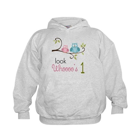Custom Owl Birthday Kids Hoodie