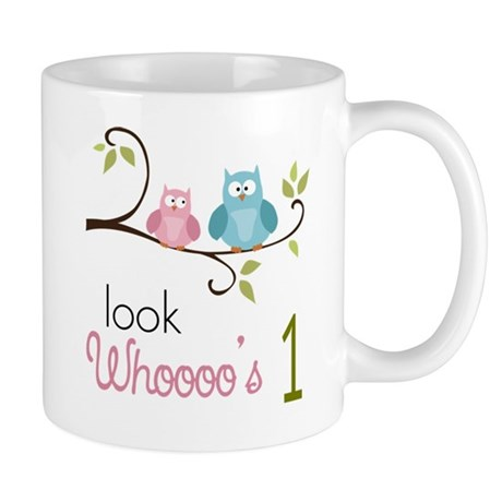 Custom Owl Birthday Mug