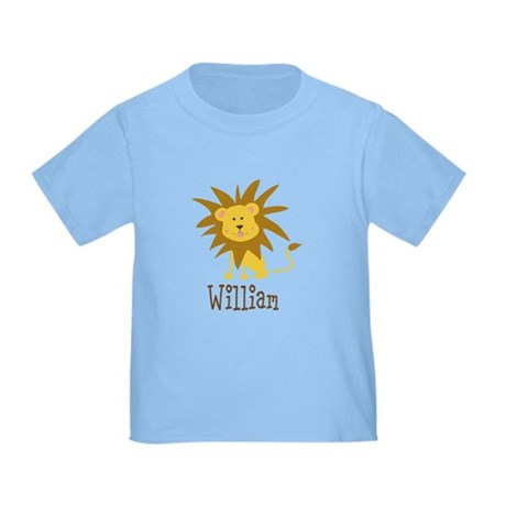 Custom Name Lion Toddler T-Shirt