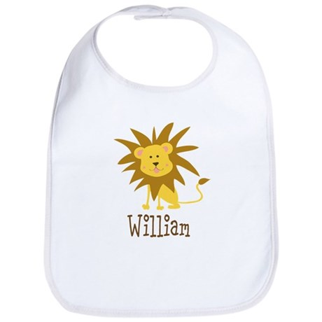Custom Name Lion Bib