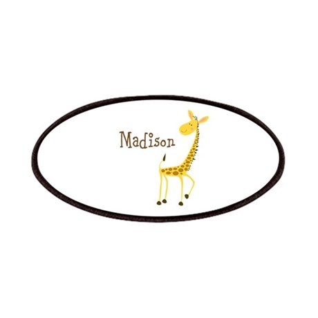 Custom Name Giraffe Patches