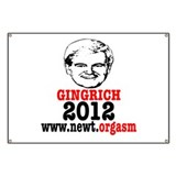 Gingrich 2012 Humor Banner