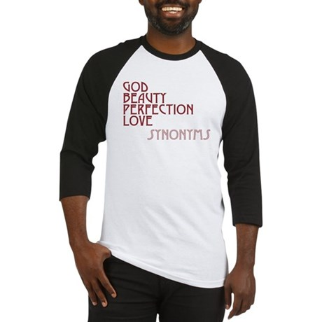 God Beauty Perfection Love Men's Baseball Jersey