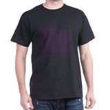 Custody Defined Purple Black T-Shirt