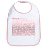 Custody Defined Red Bib