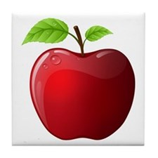 Teachers Apple Tile Coaster