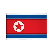 Flag of North Korea Rectangle Magnet