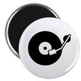 "Turntable DJ 2.25"" Magnet (10 pack)"
