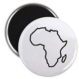 Africa map Magnet