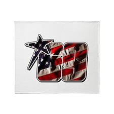 NHflagStar Throw Blanket