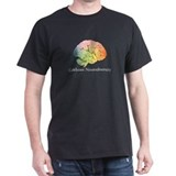 celebrate neurodiversity black t-shirt