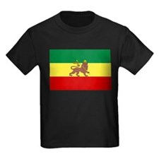 Lion of Judah Ethopian Flag T